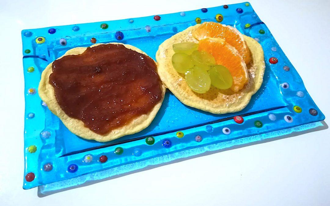 Pancake con farina di ceci bio