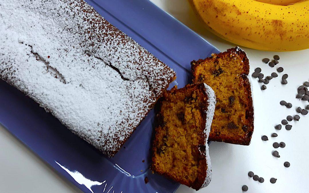 Banana Bread con farina di cicerchia bio