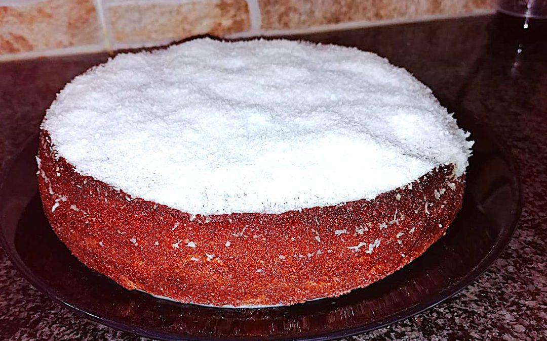Torta al cocco con farina di cicerchia bio