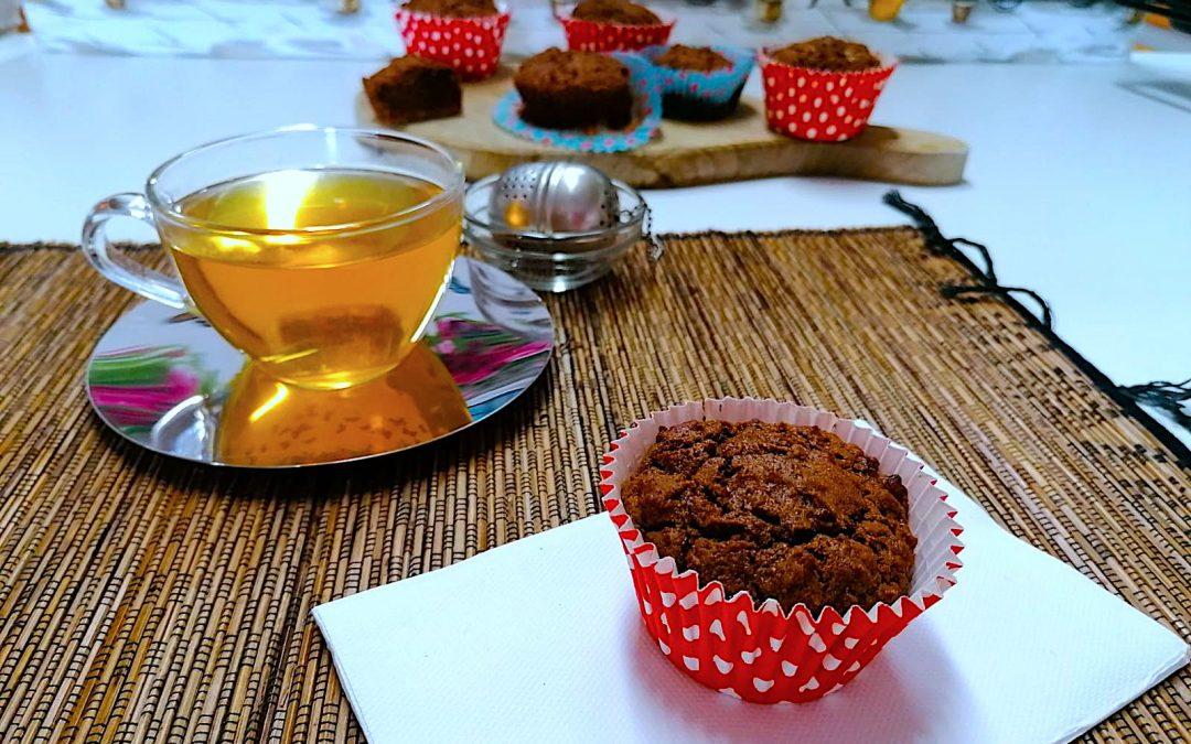 ChocoCarrot cupcake con farina di Cicerchie bio