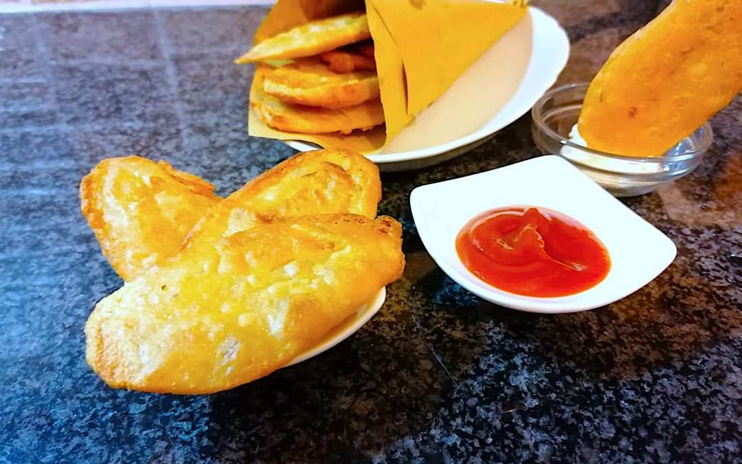 Patate in Pastella con Farina di Ceci Bio