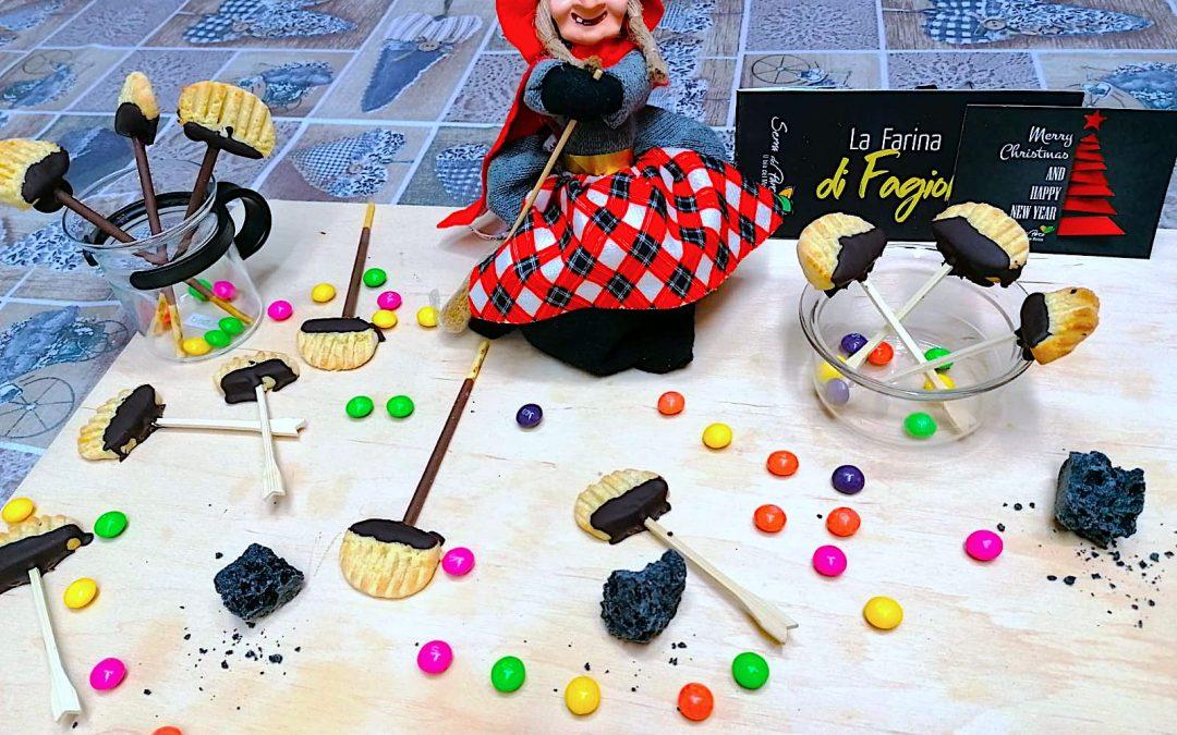 Scopette dolci della Befana con Farina di Fagioli bio