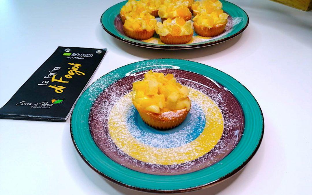 """Muffin """"Mimosa"""" con Farina di Fagioli bio"""